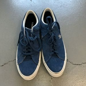 Converse Blue One Star Vintage Low Top